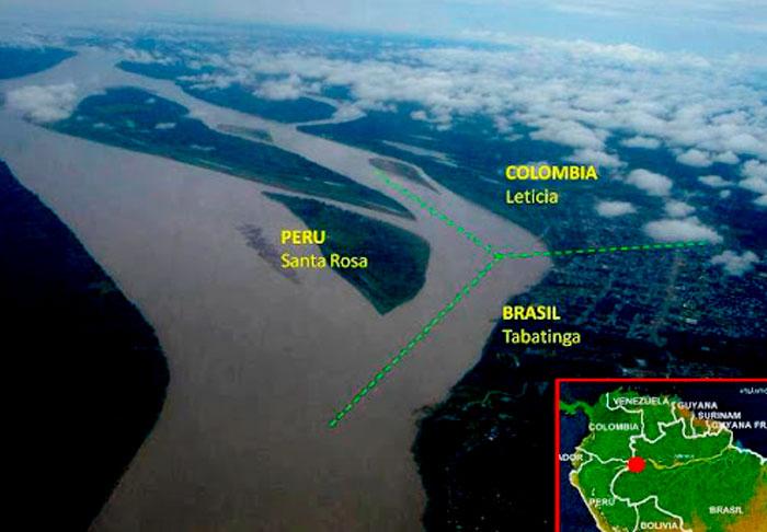 Foto: El pedido se extiende a los gobiernos de Perú, Colombia y Brasil, quienes conforman la Triple Frontera