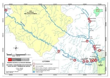 Avistamiento de Dragas en Amazonía