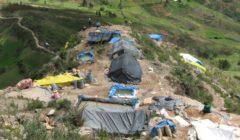 Minería ilegal en Cajamarca. Foto: Andina